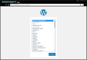 Configurar WordPress en local