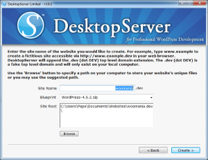 Primera web en Local con DesktopServer