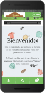 Tienda Virtual Screenshot